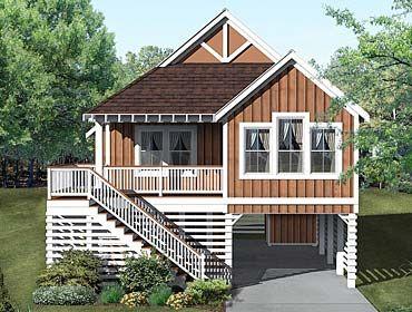 Coastal Home Plans Saw Grass Coastal House Plans Small Beach Houses House On Stilts