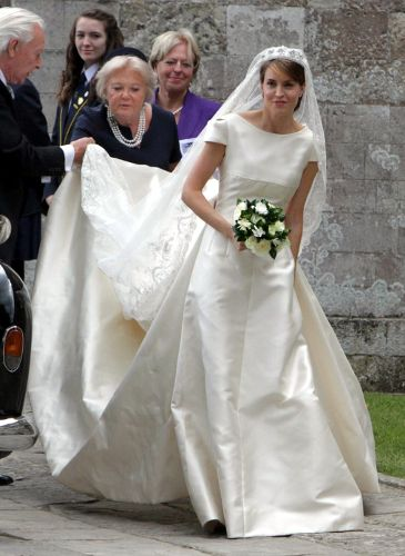 british and greek royals attend british society wedding