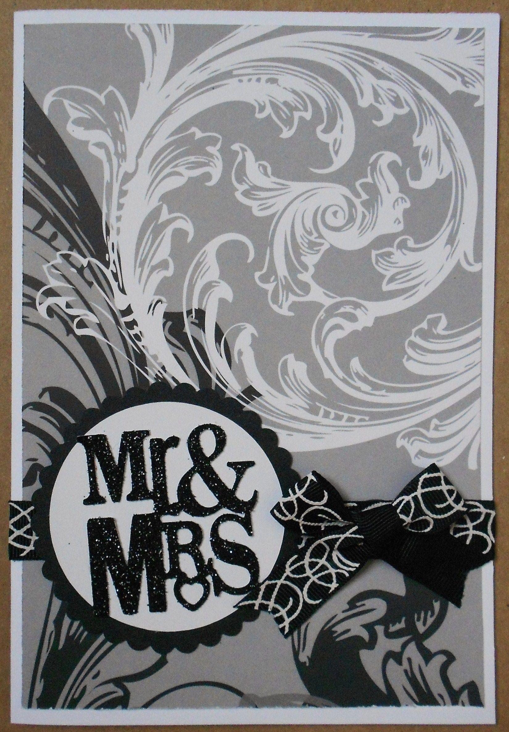 Wedding card.....Made with Sweethearts Cricut Cartridge