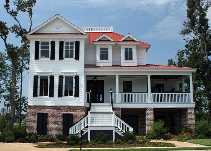 Low country house plans south carolina home design and style for Low country homes