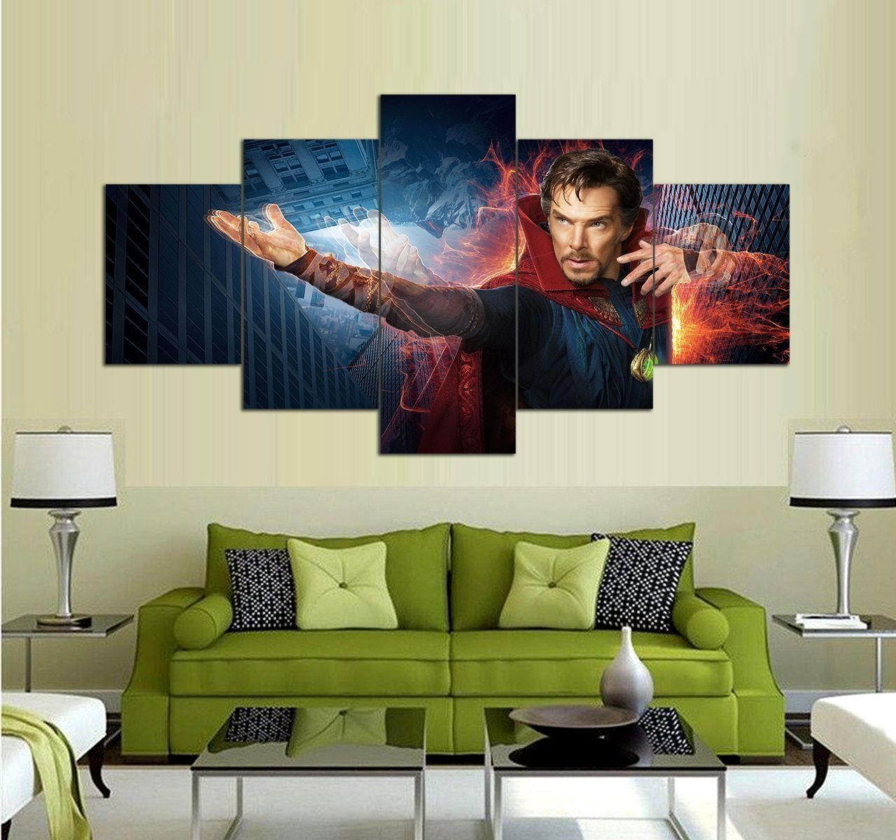 Doctor Strange Canvas Wall Art Set 5 Piece Canvas Art Prints Decor Canvas Wall Art Set 5 Piece Canvas Art Wall Art Sets