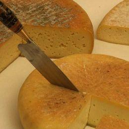 Cuchillo Tipico Canario Corta Queso De Flor De Guia Gastronomia
