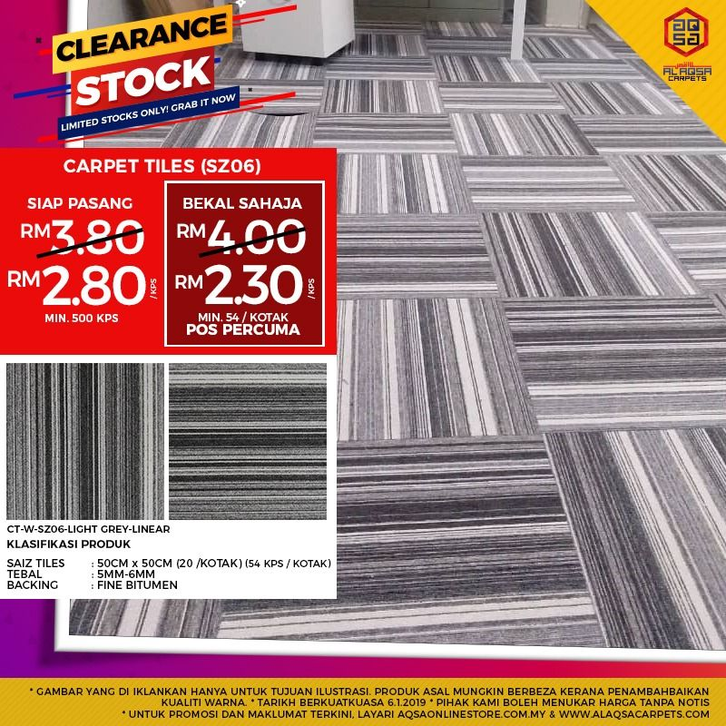 Carpet Tile Is Versatile And Easy To