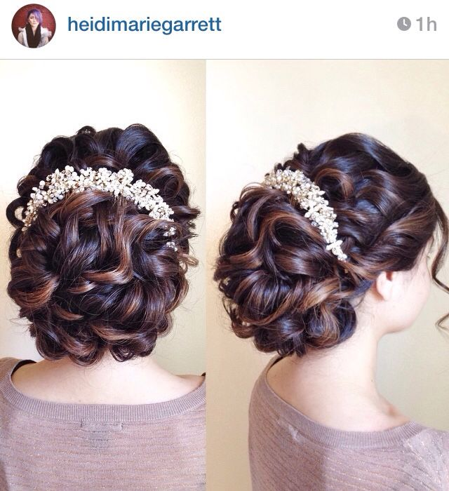 #wedding | Wedding hairstyles, Wedding bridal, Hair styles