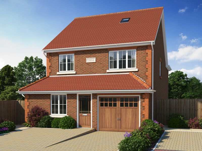 The Oaks - ONE REMAINING! Set in a quiet residential area, the Oaks is a private development in Potters Bar consisting of one 5-bedroom and two 3-bedroom properties.