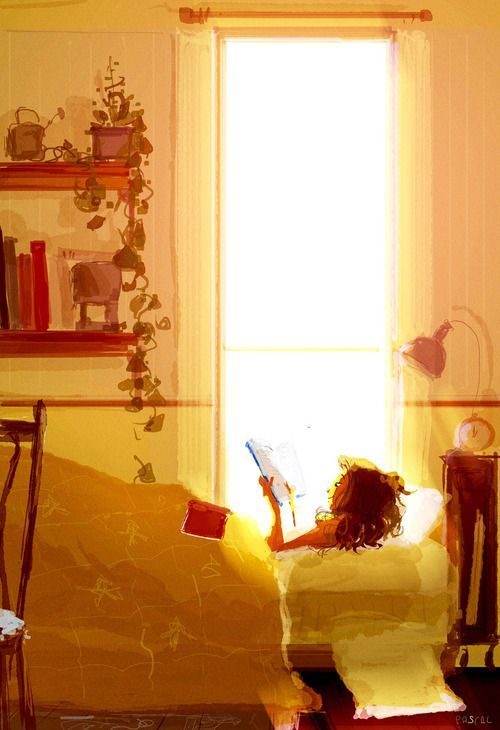 Read in Relax - PascalCampionArt