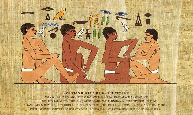 Egyptian Reflexology | All things Egyptian | Foot
