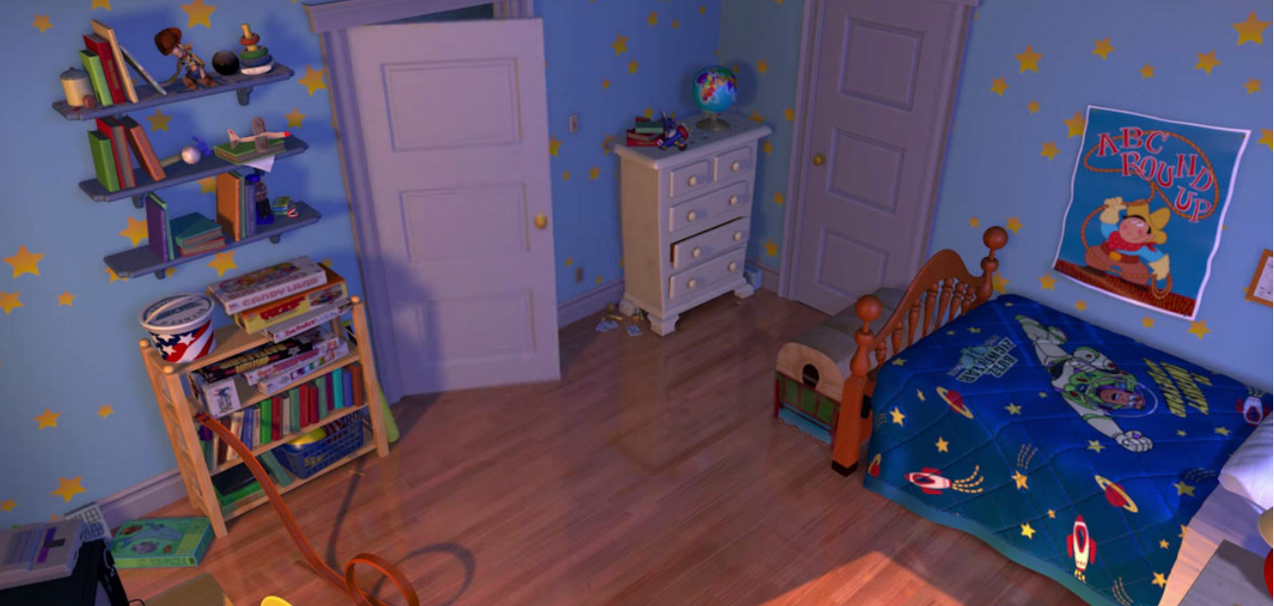 Andys Room From Toy Story Bedroom Ideas