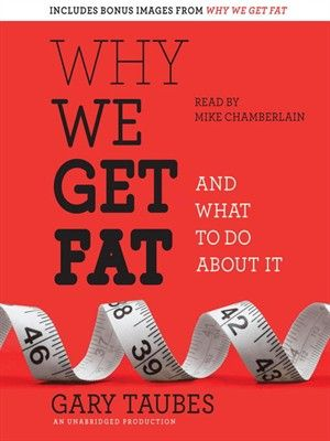 Why We Get Fat And What to Do About It by Gary Taubes Mike Chamberlain