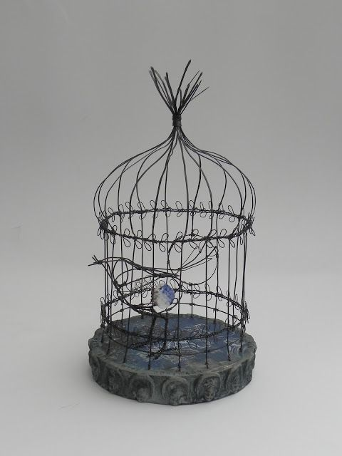 Cage Structures Curious Objects Bird Cage Decor Cage Wire Art