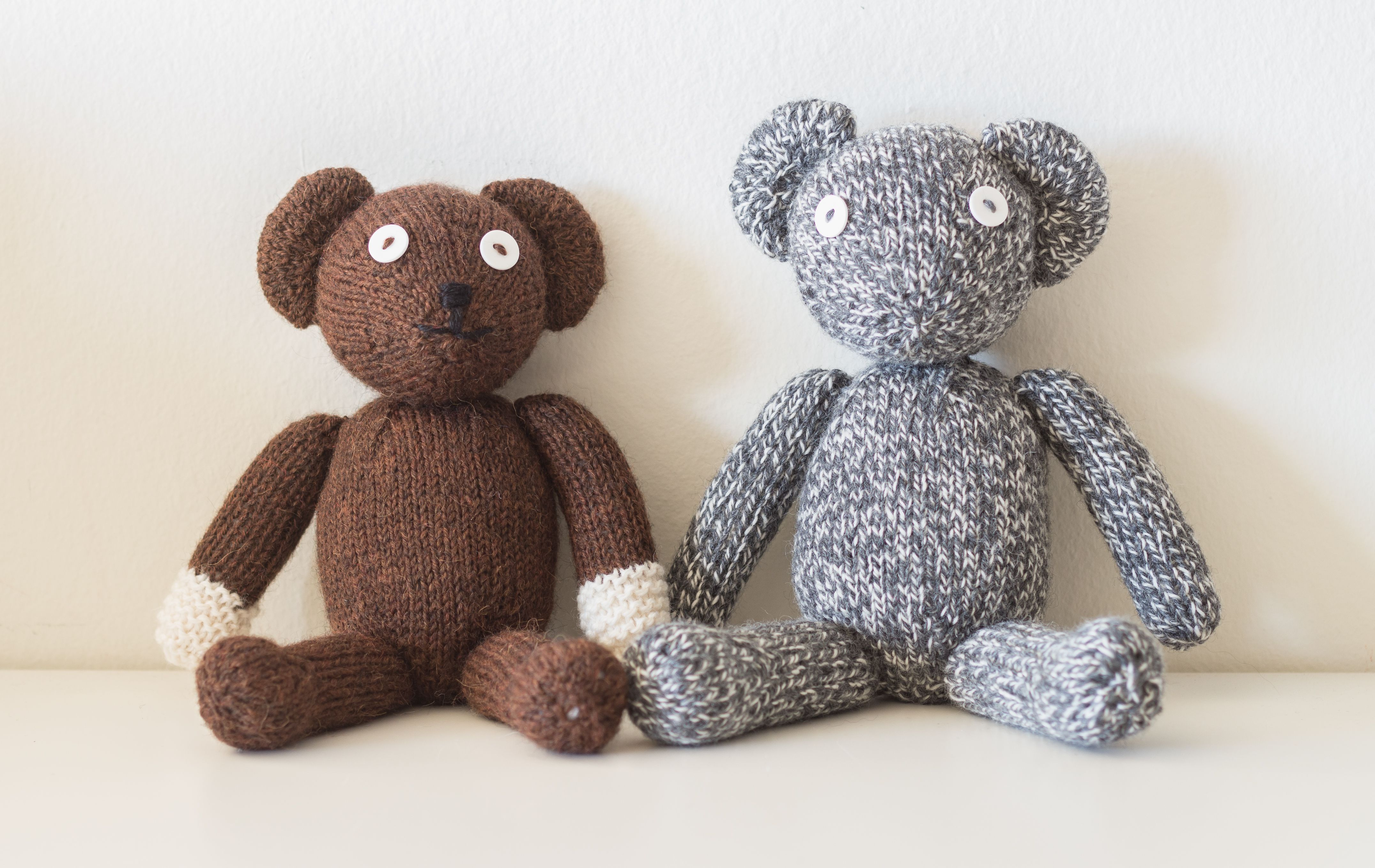 Amigurumi Crochet Patterns Teddy Bears : Custom knit mr bean bear toys dolls and amigurumi