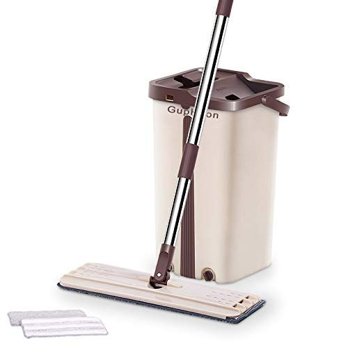 Mop Bucket with Wringer HandFree Wringing Floor
