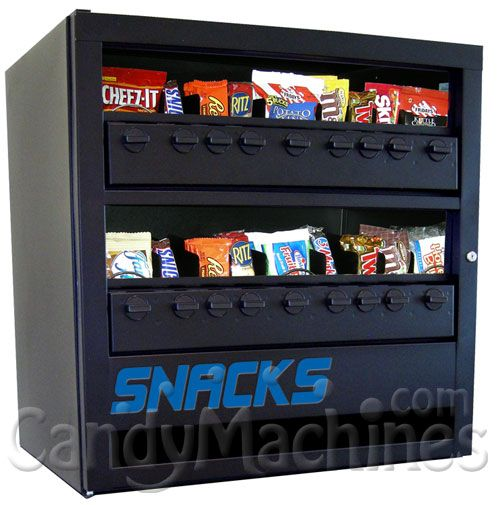 14 Column Snack Vending Machine Tabletop Snack Vending Machines
