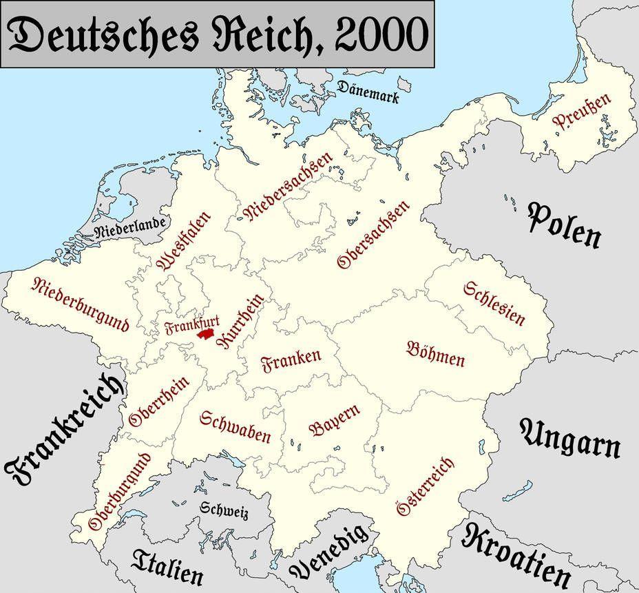 2018 03 14 Cislethania 2018 By Gecktron On Deviantart Imperial Circles Of Germany By Theprussianrussian In 2020 Karte Deutschland Deutschlandkarte Kartographie