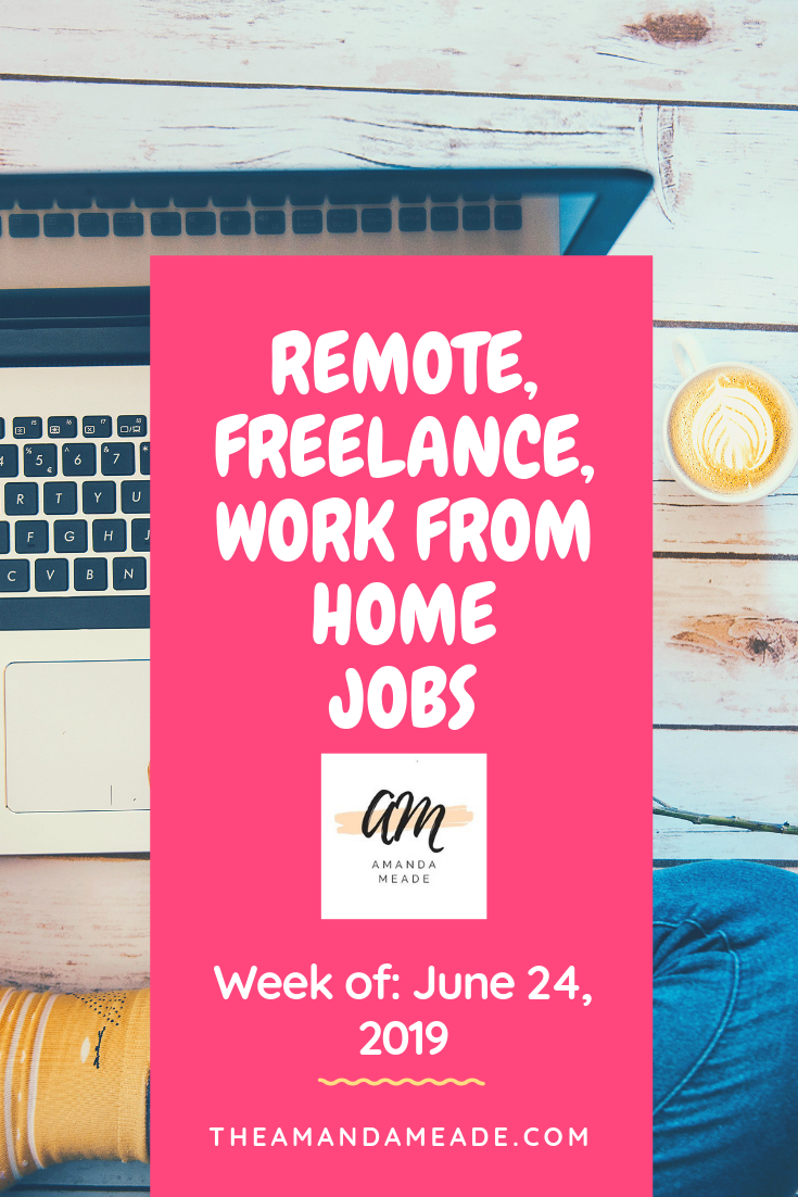 Looking For A Remote Flexible Or Work From Home Job I Update A