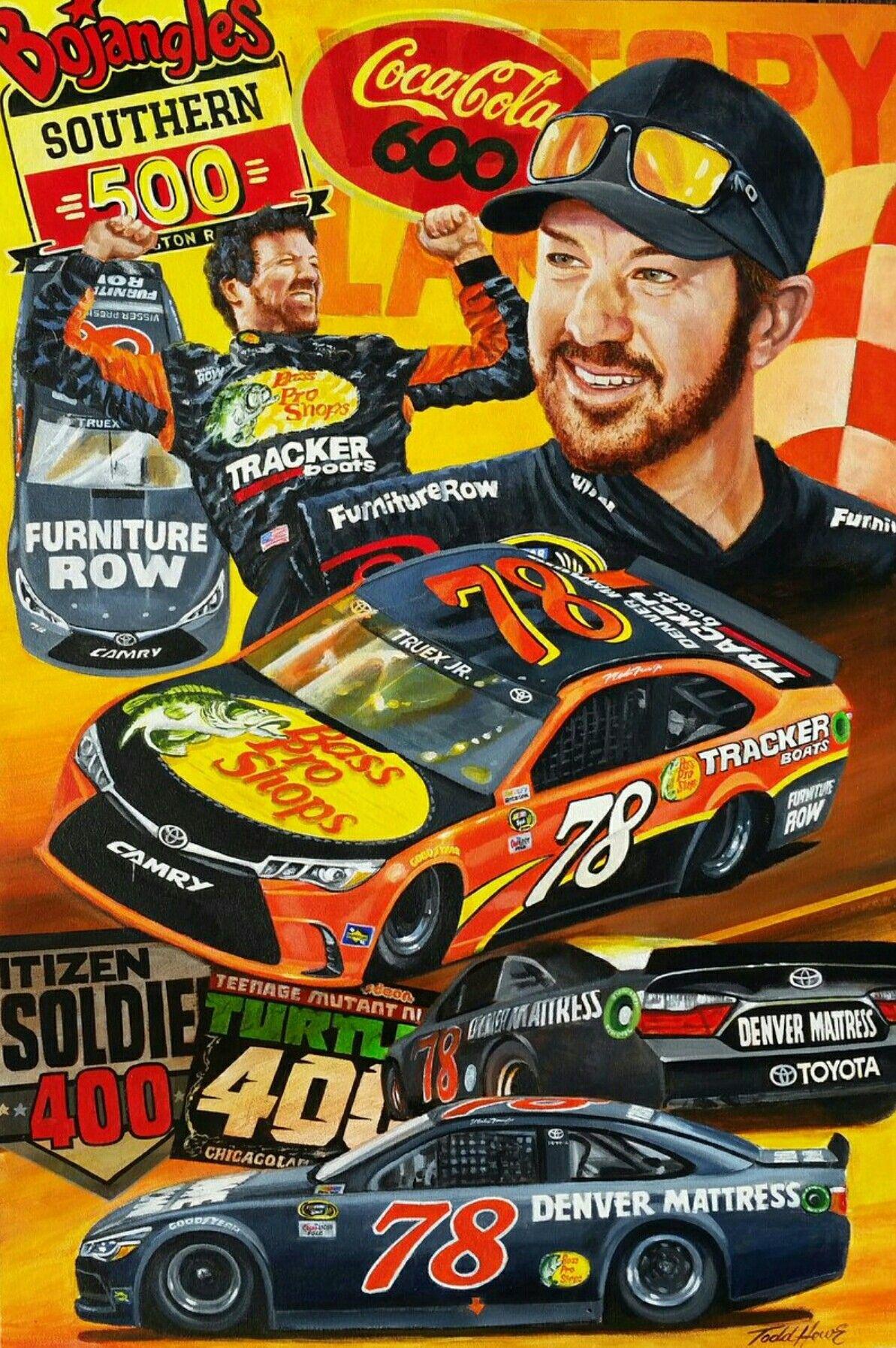 Sweet painting Martin truex jr, Truex jr, Nascar racing