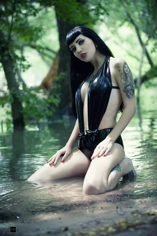 Sexy Girl Goth Gothic Vector Images