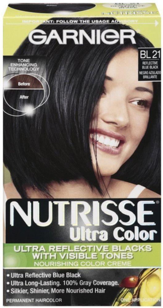 Garnier Nutrisse Ultra Color Nourishing Color Creme Bl21 Blue Black