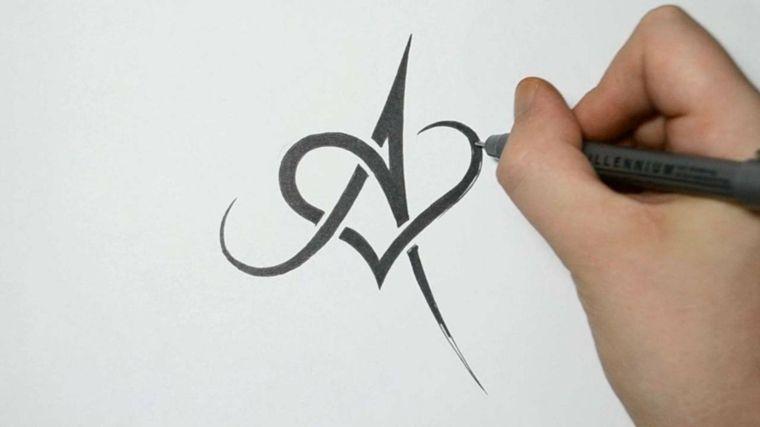 letras para tatuajes diseñados Alfabetos Pinterest Tattoo - Letras Para Tatuajes