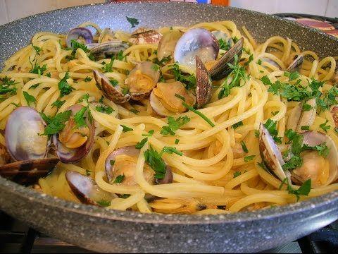 Bimby | Thermomix - Spaghetti alle Vongole - YouTube