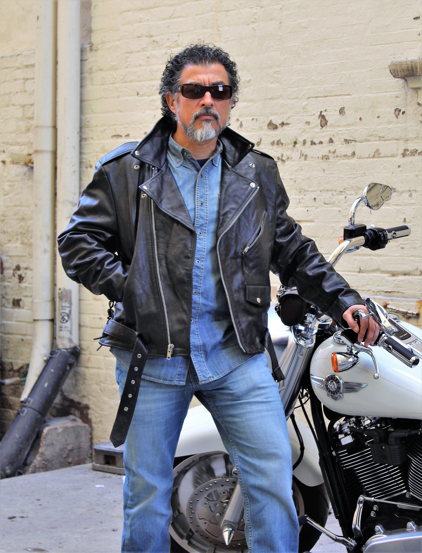 Wilsons Leather Motorcycle Jacket Mens