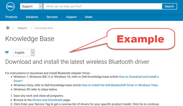 Download Bluetooth Driver for Windows 10 Dell HP Acer