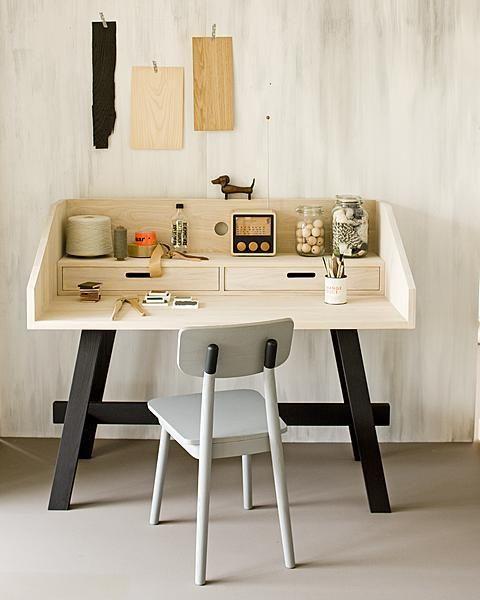 10 ideas para decorar tu espacio home office escritorio for Oficinas creativas pequenas