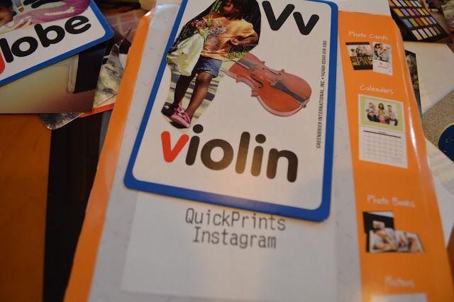 DIY Flash Cards With Printed Instagram Photos | Thriftanista in the City #WalgreensApp #shop #cbias