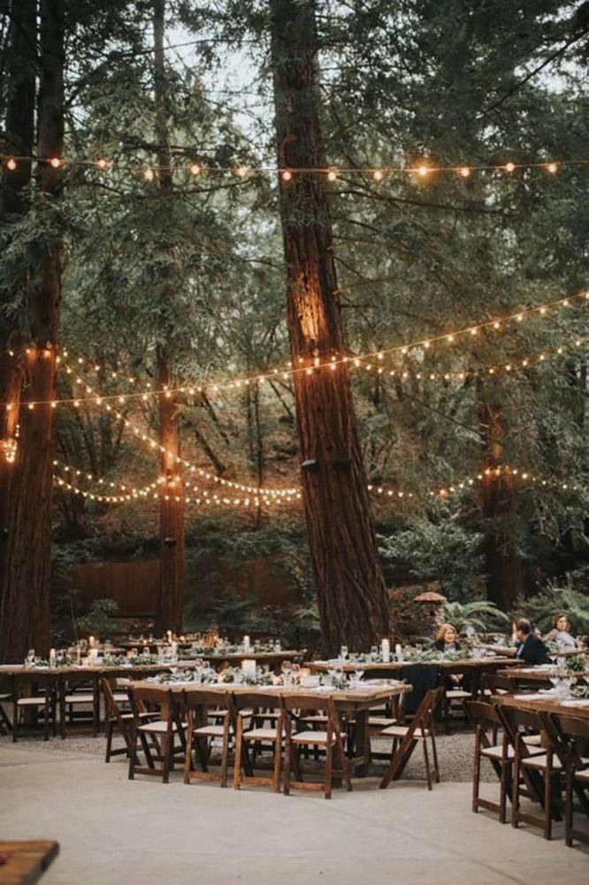 30 Beautiful Decor Ideas For Park Wedding