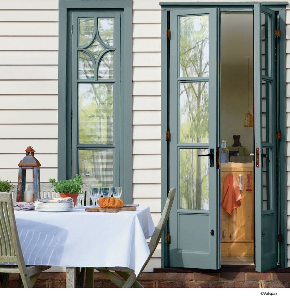 French Doors That Reflect Their Surroundings Someday Starts Today