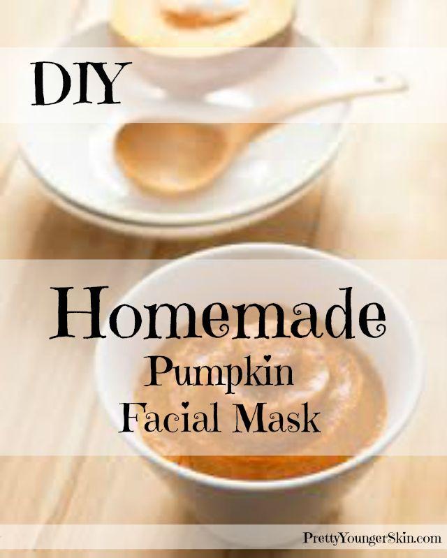 Homemade Pumpkin Facial