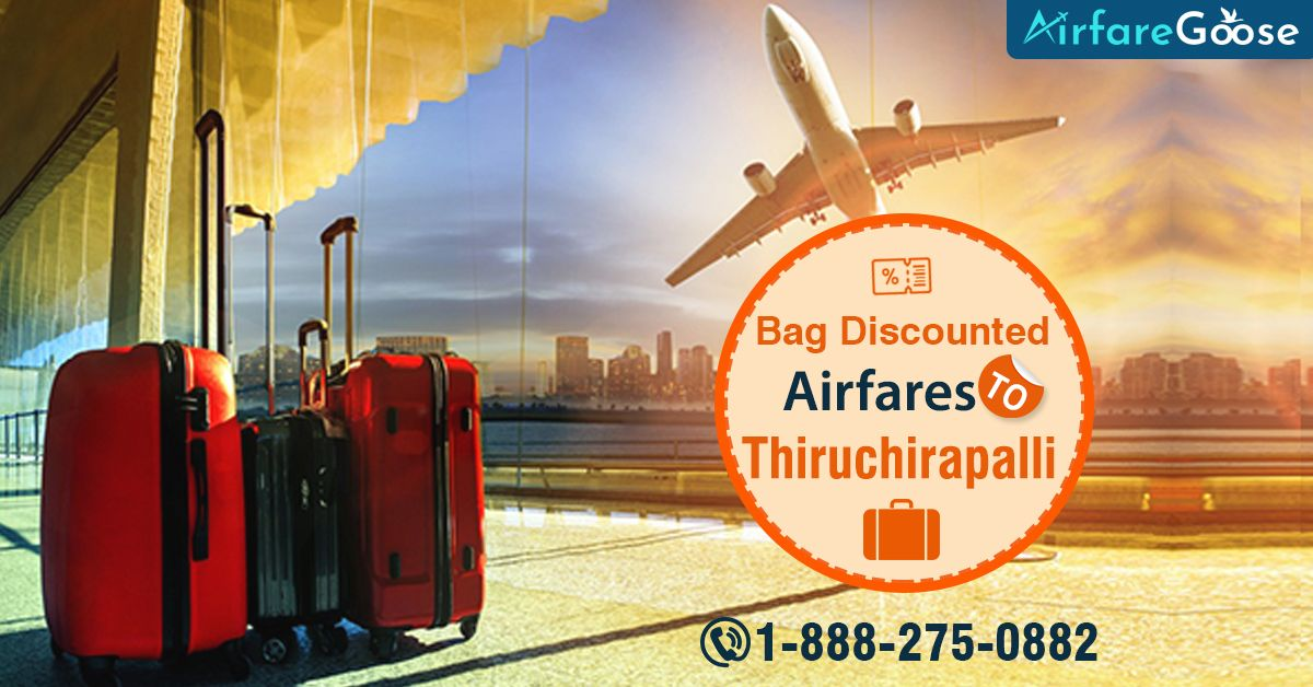 Visit Tiruchirappalli - A Temple City, a fine mix of ancient and modernity. Book low-cost flight tickets to #Tiruchirappalli at #Airfaregoose. Contact us today!  For more information, call us at -1-888-275-0882 (Toll-Free).  #Trichy #Tamilnadu #India #VisitTiruchirappalli #traveldeals #flightdeals #bookflights #vacations #cheapflights #traveltotamilnadu #TempleTour #CheapFlightBooking #Vacation #Destinations #TouristAttractions #USAtoIndiaFlights