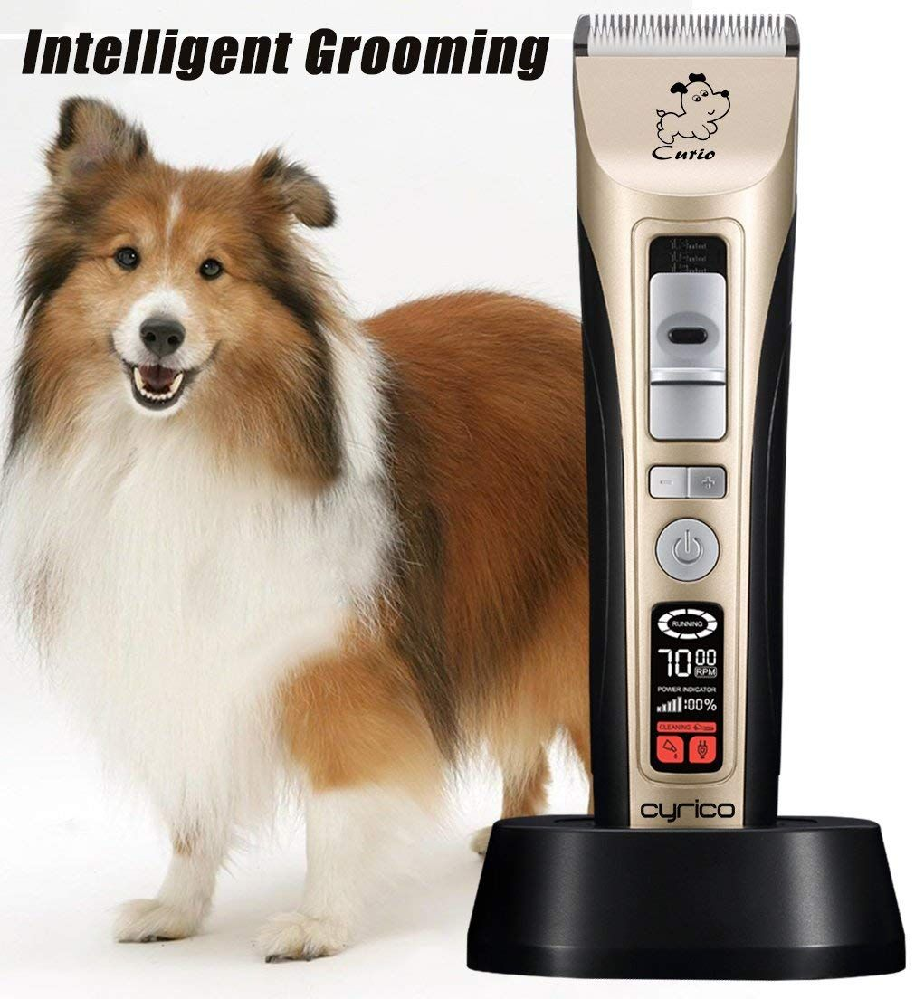 Cyrico 5speed Dog Clippers Professional Heavy Duty Dog Grooming Clippers Trimmers Clippers For Dogs Ca Dog Grooming Clippers Pet Grooming Dog Grooming Supplies