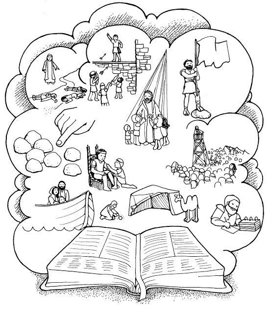 As Tontas Vão Ao Céu: Histórias do Livro de Mórmon Para Pintar ...