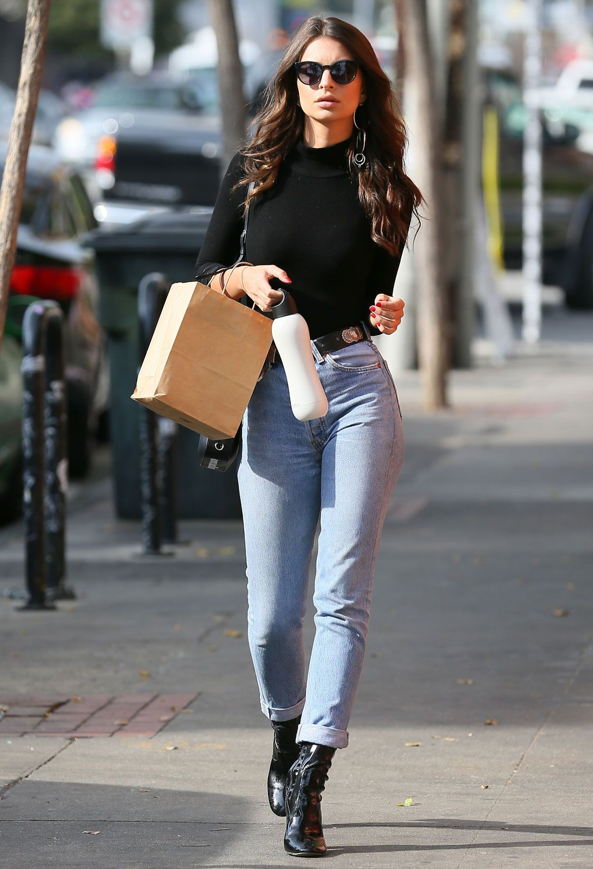 style les meilleurs looks de la semaine top model mode femme jeans tenue glamour et look. Black Bedroom Furniture Sets. Home Design Ideas