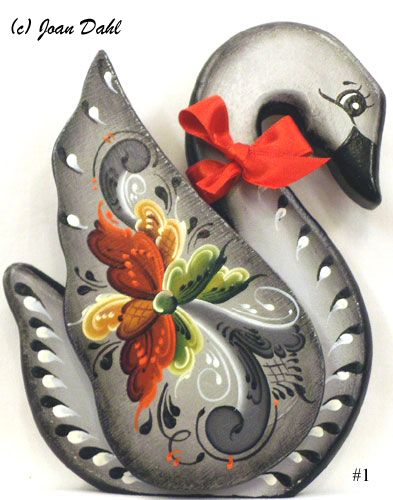 Decorative Swan Kit in Grey, Stock #1