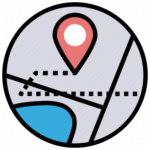 Finding Location Map Navigation Icon Download On Iconfinder Icon Map Location Map