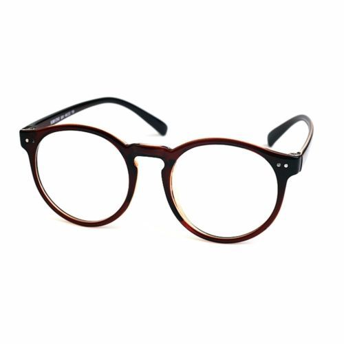 27c7cf13f8 1920s Vintage oliver retro eyeglasses 41R82 Brown Round frames eyewear  rubyruby
