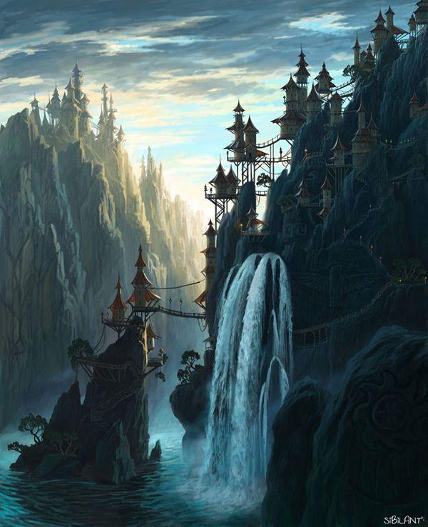 Image Result For Breathtaking Fantasy Art Landscape Pictures With
