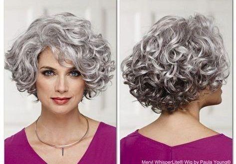 Cute Hairstyle Ideas For Long Face 2020 Short Permed Hair Curly Hair Styles Curly Hair Model