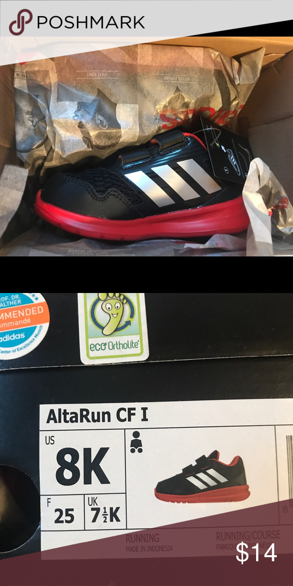 f09a12301b7 Adidas AltaRun CF I Toddler sneakers Brand new in packaging with tags! adidas  Shoes Sneakers