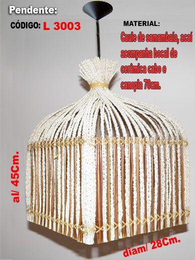 CONFECCIONAMOS LUMINÁRIAS ARTESANAIS COM DESIGNES ORIGINAIS.  ARANDELAS, ABAJURES, LUSTRES, ABAJUR-GRANDE-DE-5-ANDARES, Entre outros.      Faça-nos uma visita sem compromissos e confira: http://www.luminariasartesanais.com.br/      ----------------------------  Contatos:  TELES. (73) 32512397 / 91559446    E-mail: luminariaartesanal@gmail.com    Site: http://www.luminariaartesanal.com.br  Blog: http://www.luminariaartesanal.blogspot.com.br/   Site2: http://www.luminariasartesanais.com.br