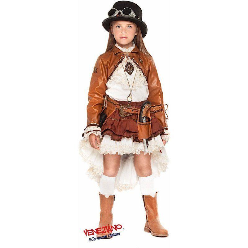 7879e31a4ac8 Costume di Carnevale VIAGGIATRICE DEL TEMPO BABY | bimbi | Costumi ...