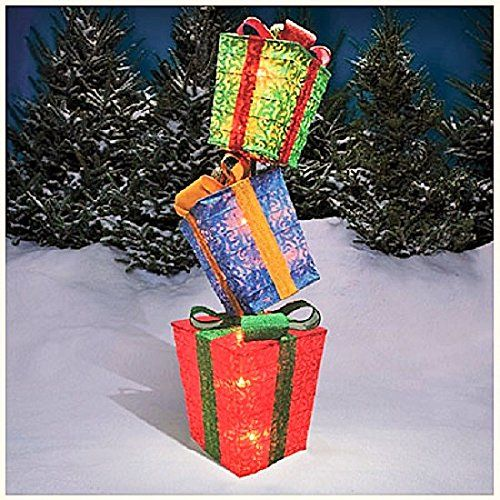 Lighted bright red green blue gift boxes httpchristmasshack lighted bright red green blue gift boxes httpchristmasshack outdoor christmas decorationschristmas aloadofball Gallery