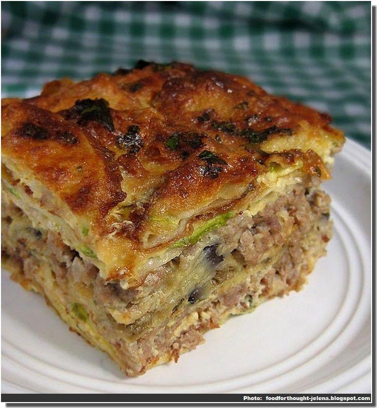 Voici une recette de la moussaka serbe srpska musaka un for Specialite russe cuisine