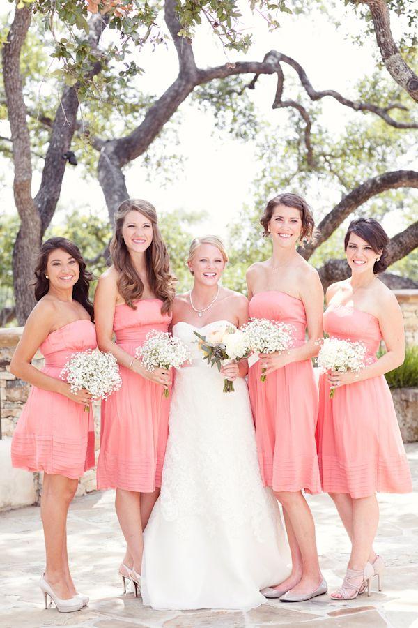 Julieanne + Bryce: A Sweet Texas Wedding | Pinterest | Coral ...