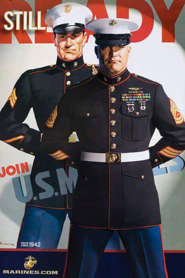 Classic Marine Recruiting Poster Military Marines Marines Us Marine Corps