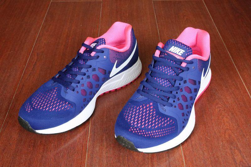 Para Mujer Nike Air Pegasus 31 Zoom Púrpura Con Puntos Blancos mejor precio barato 8C28lWEHK