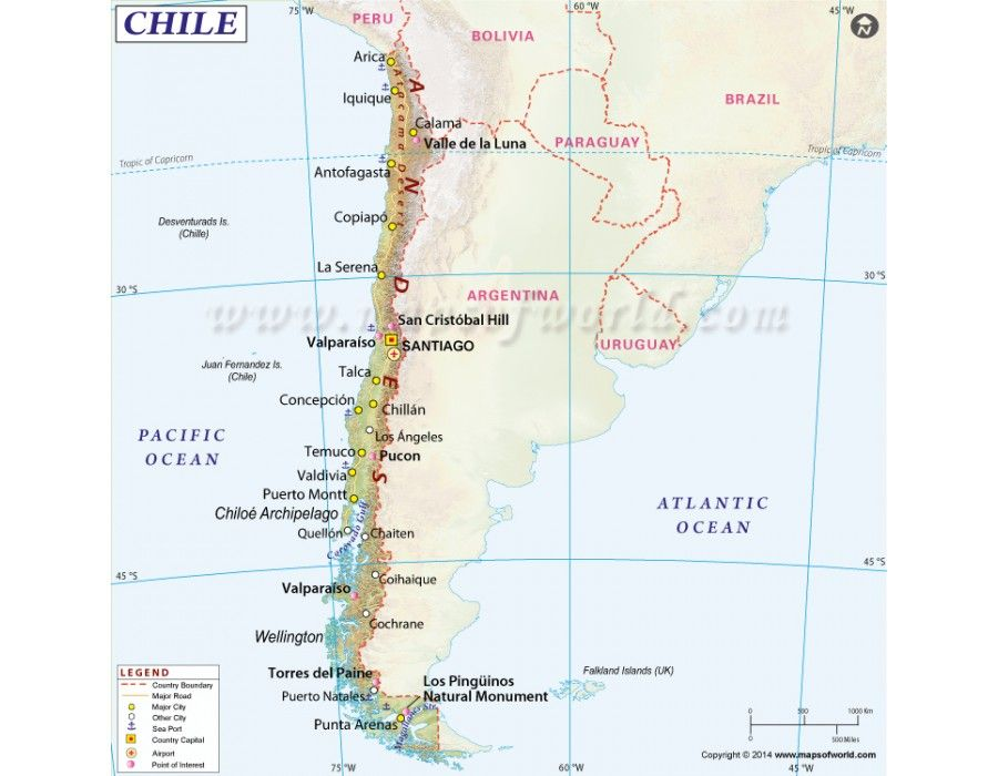 Buy Chile Map Online In Editable Digital Format Country Maps - Digital maps online
