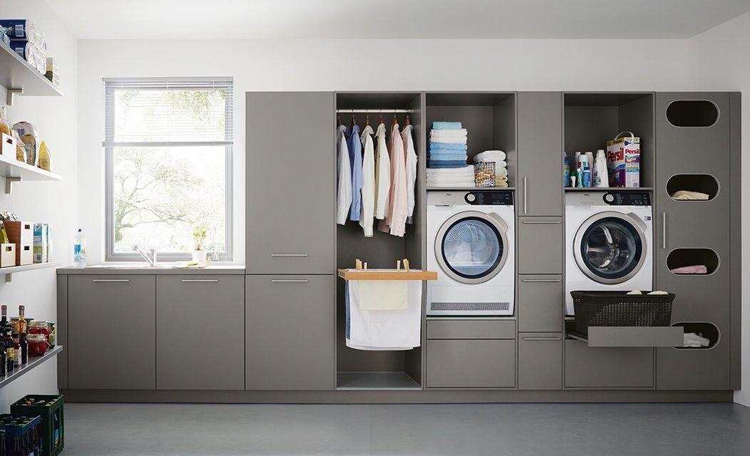 Schueller Hauswirtschaftsraum Basementcabinets Utility Room Storage Laundry Room Storage Small Laundry Room Organization